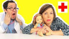 awesome Watch LITTLE LOVE a la VARICELLE - URGENCE chez le DOCTEUR à l'HOPITAL