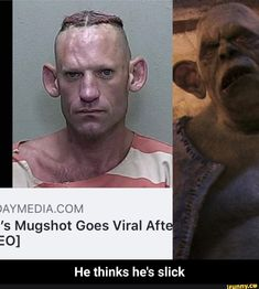 DAY M E D I AC 0 M 's Mugshot Goes Viral Aft- 0] He thinks he's slick - He thinks he's slick – popular memes on the site iFunny.co #harrypotter #movies #harry #harrypotter #day #ac #goes #viral #aft #he #thinks #hes #meme Stupid Funny, Funny Jokes, Harry Potter Memes, Mug Shots, Popular Memes, Did You Know, Funny Pictures, Relationship, Facts