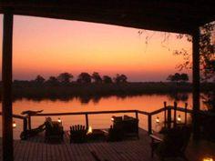 Sunset @ Lianshulu Lodge - Kwando River Mudumu National Park Eastern Caprivi, Namibia  Image: Louise Joubert