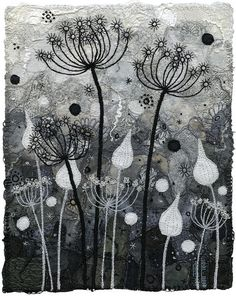 Silhouettes, Black and White by Kirsten Chursinoff, via Flickr.  http://www.flickr.com/photos/bettyclaire/5095499703/in/set-72157603789571960/