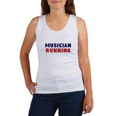 MUSICIAN RUNNING Tank Top