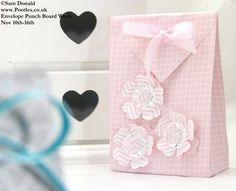 POOTLES Stampin Up ENVELOPE PUNCH BOARD WEEK The Folded Gift Bag 2