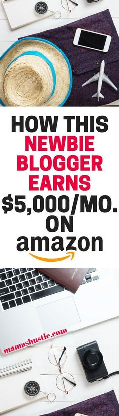 Ashli earns $5K per month on a new blog from Amazon! Read her story to learn more | mamashustle.com