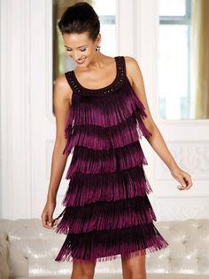 Fringed Flapper Dress - http://www.mandco.com/fringed-flapper-dress-magenta/1222244.html?dwvar_1222244_color=0902&cgid=10010006960
