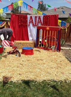Circus Birthday Party Ideas   Photo 2 of 23   Catch My Party