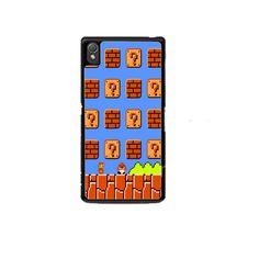 Game mario bross Sony Experia Z1 Z2 Z3 Case
