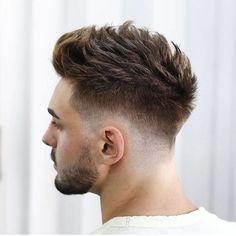 Spiky Hair For Men - Best Men's Hairstyles: Cool Haircuts For Guys Cool Hairstyles For Men, Cool Haircuts, Latest Hairstyles, Hairstyles Haircuts, Modern Haircuts For Men, Guy Haircuts, Faux Hawk Hairstyles, Mens Hairstyles Fade, Latest Haircuts