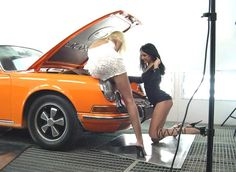 porsche pin ups - Google Search