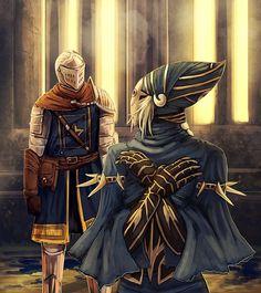 Dark Souls,фэндомы,DS персонажи,DS art,Lord's Blade Ciaran,Chosen Undead