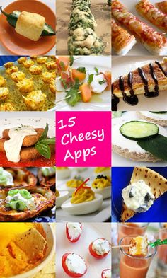 15 Cheesy Appetizer Recipes:      www.celebrations....
