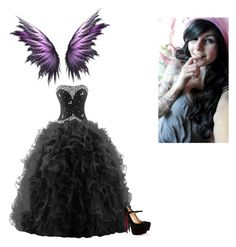 """""""-hides in a corner hoping no one will come look for her- this ball will kill me if I go.. ~Willow"""" by kick-ass-peeps on Polyvore featuring Christian Louboutin"""