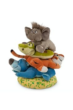 Disney The Jungle Book Plush Stacking Toy for Baby Disney Baby Rooms, Disney Nursery, Disney Toys, Baby Disney, Disney Rides, Disney Disney, Disney Stuff, Jungle Book Nursery, Jungle Book Toys