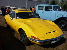 Opel GT Jaune. Ace Motor nasty Scoobie rims...