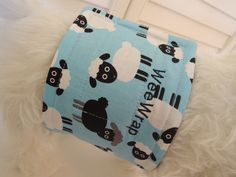 Dog Belly Band, WeeWrap in Lamb Sheep Fabric, Stops Marking,  Personalized by beffie48 on Etsy