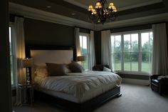 My master bedroom would look a lot like this.  Maybe a bit more color, but overall pretty great!