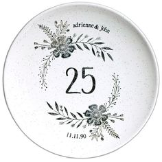 items similar to wedding plate personalized in lime on etsy