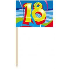 Feestartikelen Verjaardag 18 Jaar