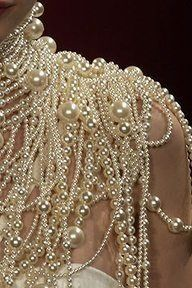 Draped in pearls
