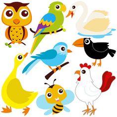 Free SVG | Funny Birds