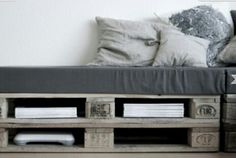 Lounge from europallets