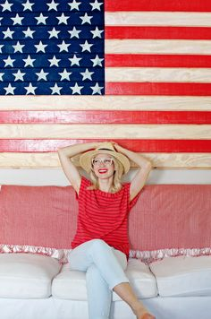 Star spangled fashions for the Fourth of July and all summer!