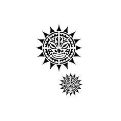 tatuaje maori del sol