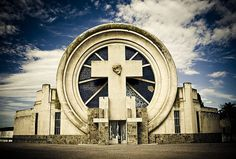Cemetery of Saldungaray, Argentina - Architect: Francisco Salamone