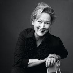 Merryl Streep, great actress! Love her