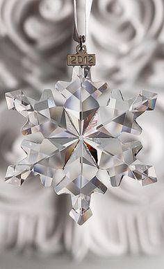 Swarovski Crystal Annual Edition Ornament, 2012