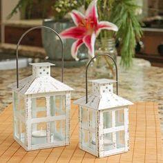 Enchanted Party – Kate Aspen Lantern Centerpieces, Lanterns Decor, Metal Lanterns, Candle Lanterns, Lanterns With Flowers, My Wedding Favors, Elegant Wedding Favors, Wedding Table, Wedding Ideas