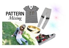 Pattern Mixing by boymeetsgirlusa on Polyvore featuring Vans, nordstrom, boymeetsgirl, boymeetsgirlusa and SS15