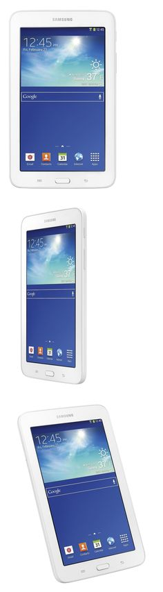 Computers Tablets Networking: New! Samsung Galaxy Tab E Lite Sm-T113 8Gb Wi-Fi 7 White Gps Nook Tablet -> BUY IT NOW ONLY: $69.99 on eBay!