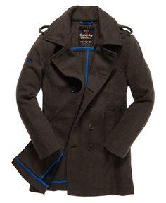 SuperDry Bridge Coat - Here's the jacket I landed on. I wanted something warm, pea coat-ish, a bit longer then a jacket, and to be reminiscent of piece of clothing that a USSR soldier would have worn...