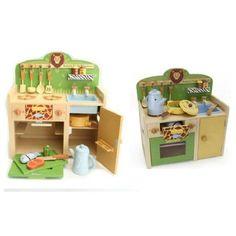 Safari Park Kinder Holzküche