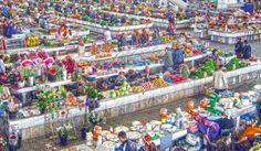 Russian Bazaar, Ashgabat | TURKMENISTAN