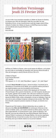 Invitation Vernissage Jeudi 25 Février 2016 Illustrations, Anna, Diagram, Paintings, Invitations, Thursday, Illustration, Painting Art, Painting