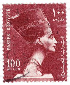 Egyptian postage stamp