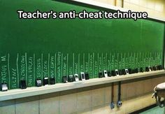 A great anti-cheating idea!!!  #teacher #meme