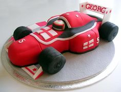 Race car cake....too cool!