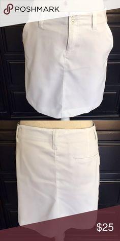 LPGA Women Skort Collection LPGA Women Skort Collection.  2 side pockets & a back pocket.  Color:  White.  Body Fabric:  Shell 96% Polyester & 4% Spandex. LPGA Collection Shorts Skorts