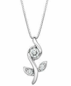 Sirena diamond three stone pendant necklace 12 ct tw in 14k sirena diamond three stone pendant necklace 12 ct tw in 14k 29 900 zar liked on polyvore featuring jewelry necklaces white gold rou aloadofball Choice Image
