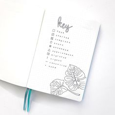 Bullet Journal | Key