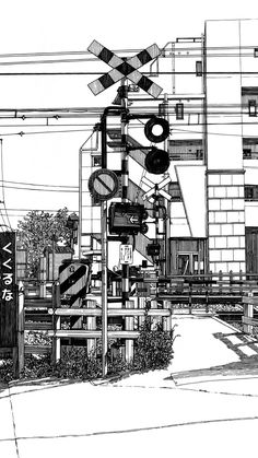 Black And White Background, Black And White Drawing, Black And White Pictures, Comic Book Background, Background Drawing, Aesthetic Japan, Aesthetic Anime, Aesthetic Backgrounds, Aesthetic Wallpapers