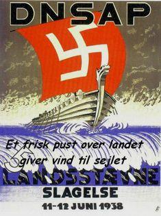 Ækel propagandaplakat fra Slagelse, 1938