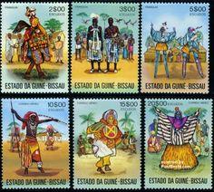 Guinea Bissau - Folklore 1976