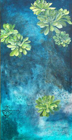 Cate Edwards 'Succulents'