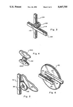 Patent US5067755 - Locking mechanism for a safe door - Google Patents