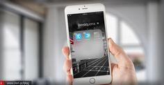 Δημιουργήστε ένθετους φακέλους στην Αρχική οθόνη της iOS συσκευή σας