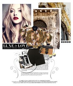 """""""Luxe in Love"""" by bbiillggeess ❤ liked on Polyvore featuring Chanel, Clover Canyon, Dolce&Gabbana, Prada, Matthew Williamson, love, LUX and bbiillggeess"""