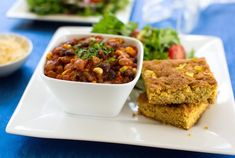 This veggie-filled chili recipe isn't revolutionary, but a plant-based repertoire wouldn't be complete without it. Serve with cornbread and a colorful salad.